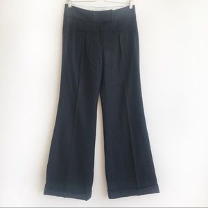 Diane vonFurstenberg Wool charcoal Trousers